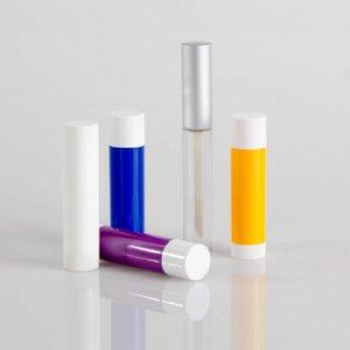 Lippenpflegestifthülsen weiß/farbig & Lippgloss Garnitur © Anna Wimmer